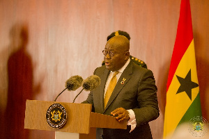 President Akufo Addo Delivering His Remarks At The IDU Meeting