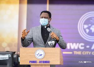 Chairman of the Church of Pentecost, Apostle Eric Nyamekye