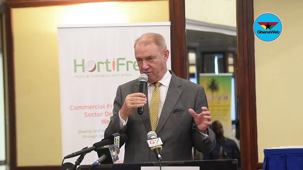 Netherlands ambassador applauds Ghana's coronavirus management