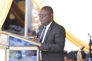 Vice Chancellor of the University of Ghana Prof Ebenezer Oduro-Owusu