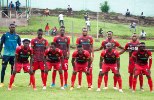 Kotoko lost to Elmina Sharks