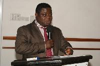 Professor Peter Quartey, Head of the Economics Department, University of Ghana, Legon