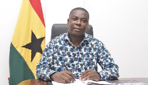 Gideon Boako, is the spokesperson for the Vice President, Dr. Mahamudu Bawumia