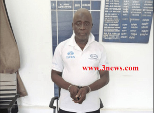 Mahama Issahaku was arrested by the Tamale Police