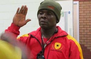 Head coach of the Ghana national boxing team,  Akwasi Ofori Asare