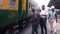 The resumption in passenger service is due to the drop in coronavirus cases in Ghana