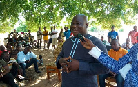 Mr Amidu Chinnia Issahaku, the Acting Upper West Regional Minister