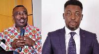 Stephen Asamoah Boateng and Kwame Asare Obeng