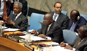 Kofi Annan Nana Addo