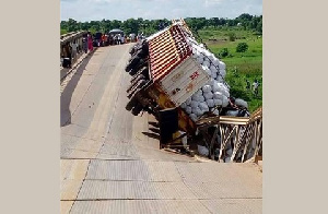 On Friday, July 14, the bridge collapsed when an articulated truck with registration number GT 2758