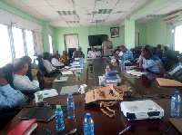 Stakeholders of Northern Development Authority in a meeting