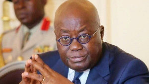 Akufo Addo, The Ghanaian President