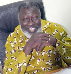 Late Nii Odoi Mensah, former Actors Guild President