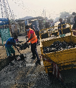 Alajo North Assembly Member organises a cleanup exercise on 64th Independence Day