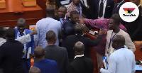 Mahama Ayariga was indicted by a 5-member ad hoc committee