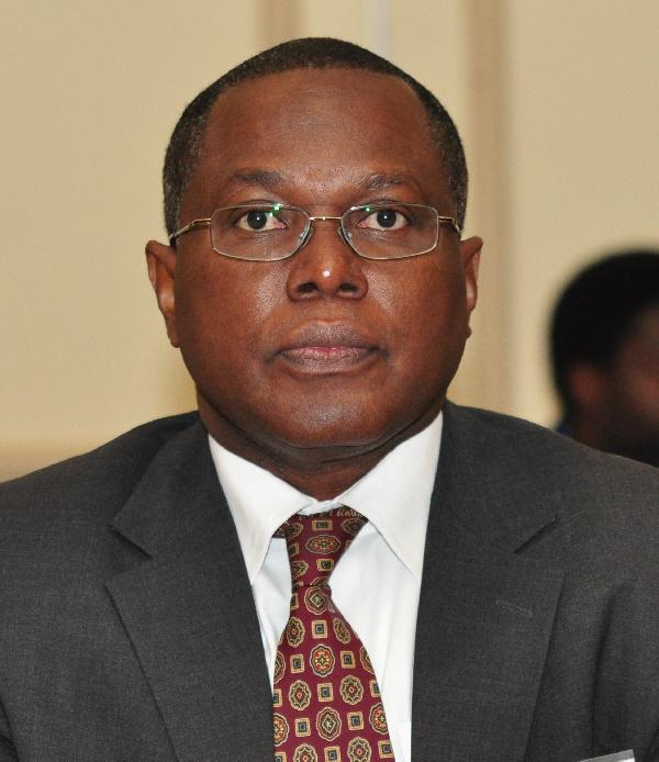 Dr. Nii Moi Thompson, Chairman of NDPC