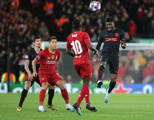 Partey has been Atleti's stand out performer in midfield this season