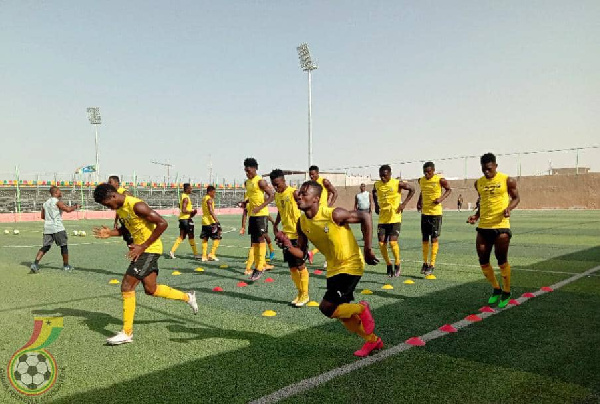 U-20 AFCON: Black Satellites resume training ahead of Gambia tie