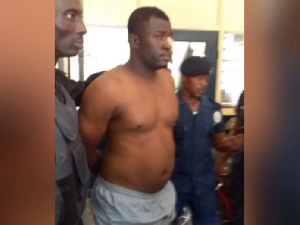 The main  suspect in the murder of a police man, Eric Kojo Duah