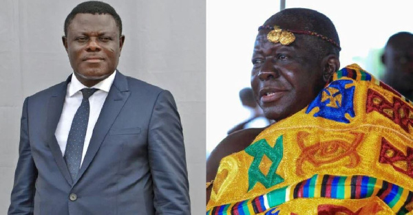 Otumfuo rejects Kwame Kyei's resignation as Kotoko Board Chair