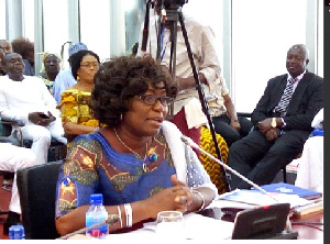 Elizabeth Naa Afoley Quaye, Minister for Fisheries and Aquaculture