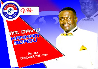 David Kankam Boadu is aspiring to be elected as the National Chairman of the NPP