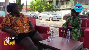 Precious Mensah speaking on GhanaWeb's Say It Loud