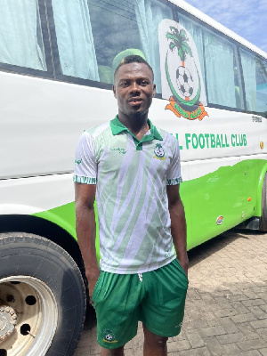 Goalkeeper, Danlad Ibrahim