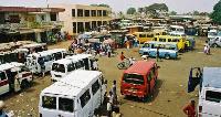 Aerial shot of a bus terminal   File photo