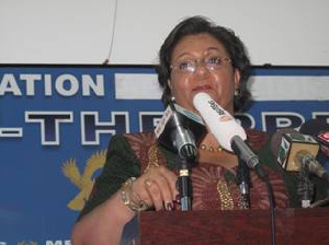 Minister of Foreign Affairs, Ms Hanna Serwaa Tetteh