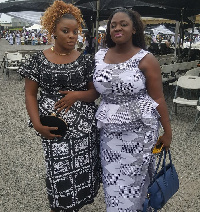 Gloria kani and Tracey Boakye