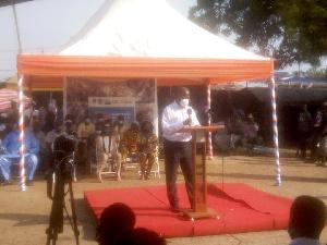 Dr William Adu Kumah, Director, Veterinary Services Directorate