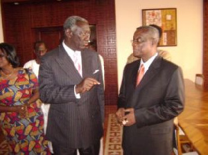 Mills Kufuor Chat