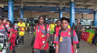 The Lionesses arrived Ghana on Thursday afternoon and are lodged at Mplaza Hotel