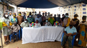 National Commission for Civic Education held a social auditing programme for residents at Ashaiman