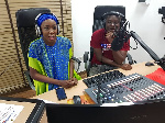Nafisa and Evans Amewugah are the hosts of the show
