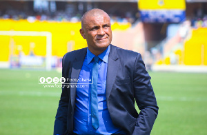 Former Hearts of Oak coach, Kim Grant