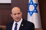 Israeli Prime Minister Naftali Bennett chairs the first weekly cabinet meeting of the new government