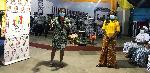 Ms Gifty Agyeiwaa Badu, NCCE Ashaiman Municipal Director addressing the women