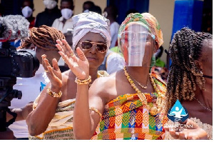 Keche Andrew's wife enstooled Queen Mother at Wasa Agona Amenfi