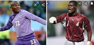 Ghanaian duo Richard Kingston and Sammy Adjei