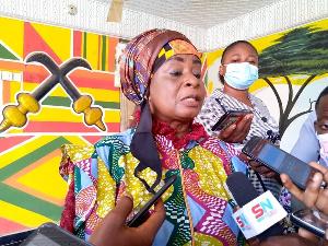 Afigya Kwabere Development Queen Mother, Obaapa Adwoa Nkyaa