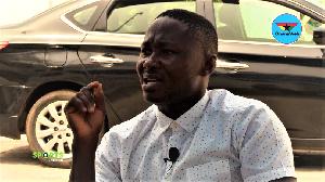 Former Asante Kotoko player, Eric Bekoe