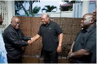 Nana Akufo-Addo and President Mahama