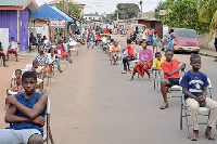President Nana Akufo-Addo has continuously urged social distancing
