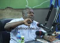 NPP National Youth Organizer, Henry Nana Boakye