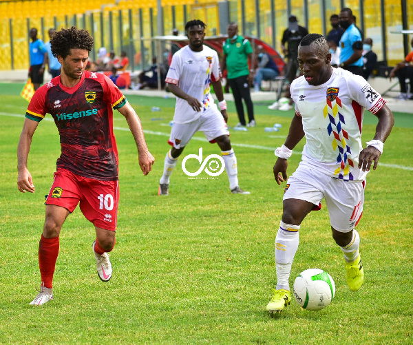 Kotoko v Hearts: Two missed penalties ensure goalless draw