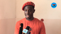 Leader of Economic Fighters League, Ernesto Yeboah