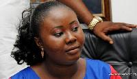 Francisca Oteng Mensah,MP for Kwabre East Constituency