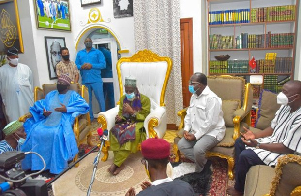 We have delivered our promise to Zongos: we will do more in 4 years – Bawumia tells Chief Imam